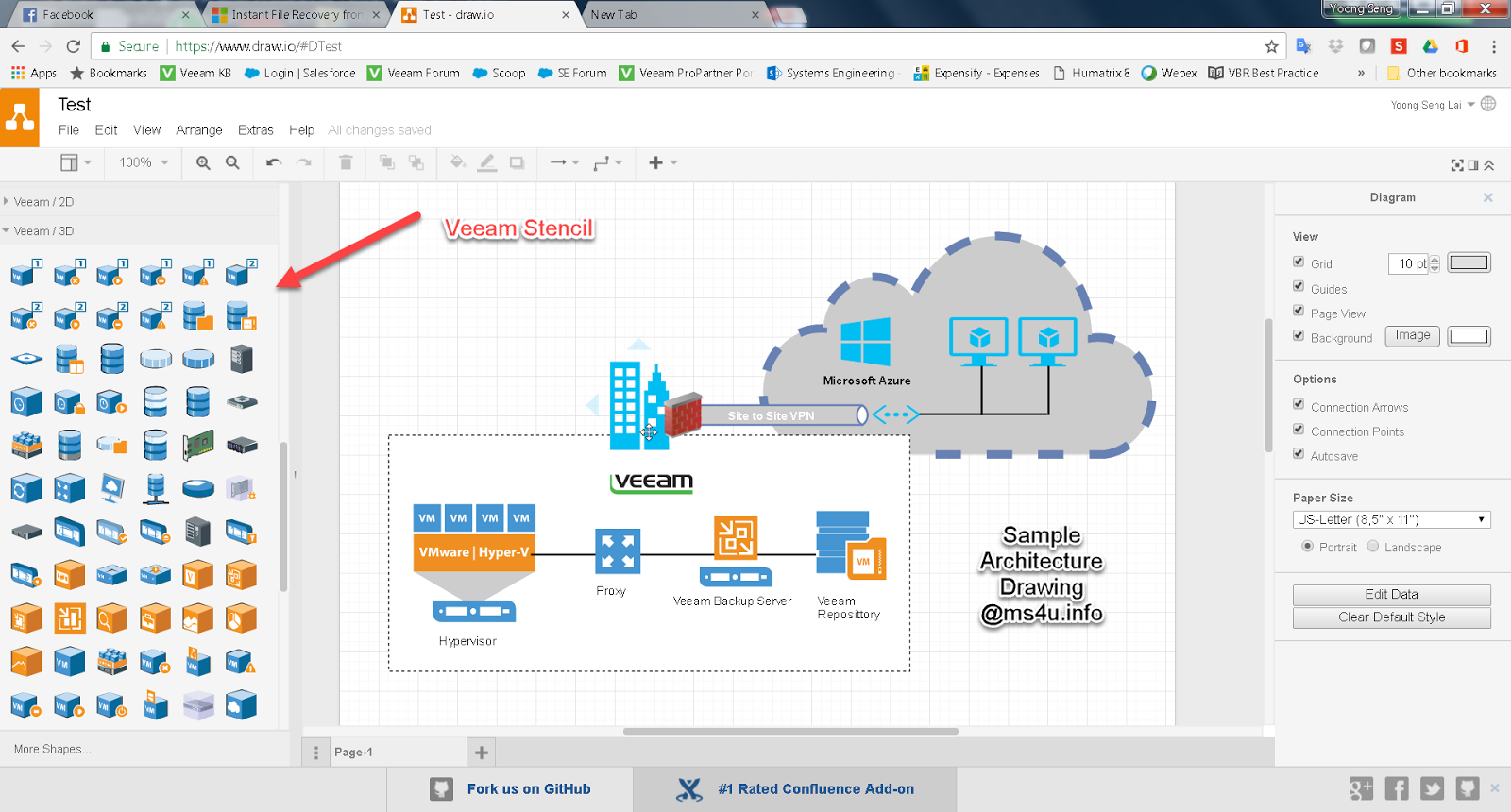 HYPERV,SYSTEM CENTER AND AZURE: Free Online Drawing