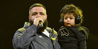 Khaled And His Son Asahd.