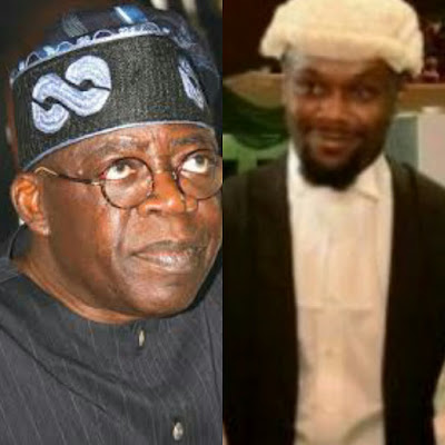 Photo of Bola Tinubu and Late Son, Jide Tinubu