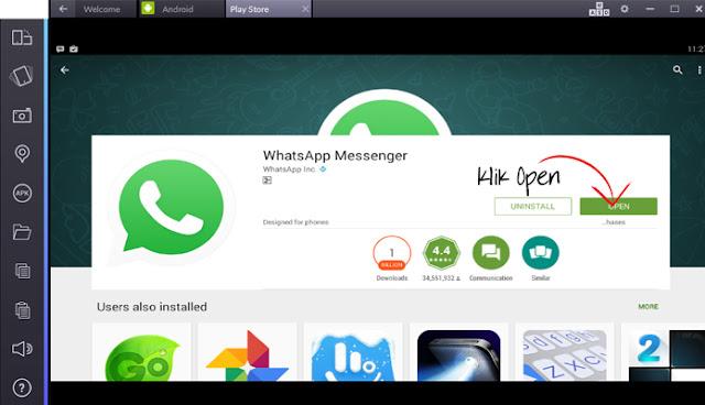 Cara install WhatsApp dikomputer