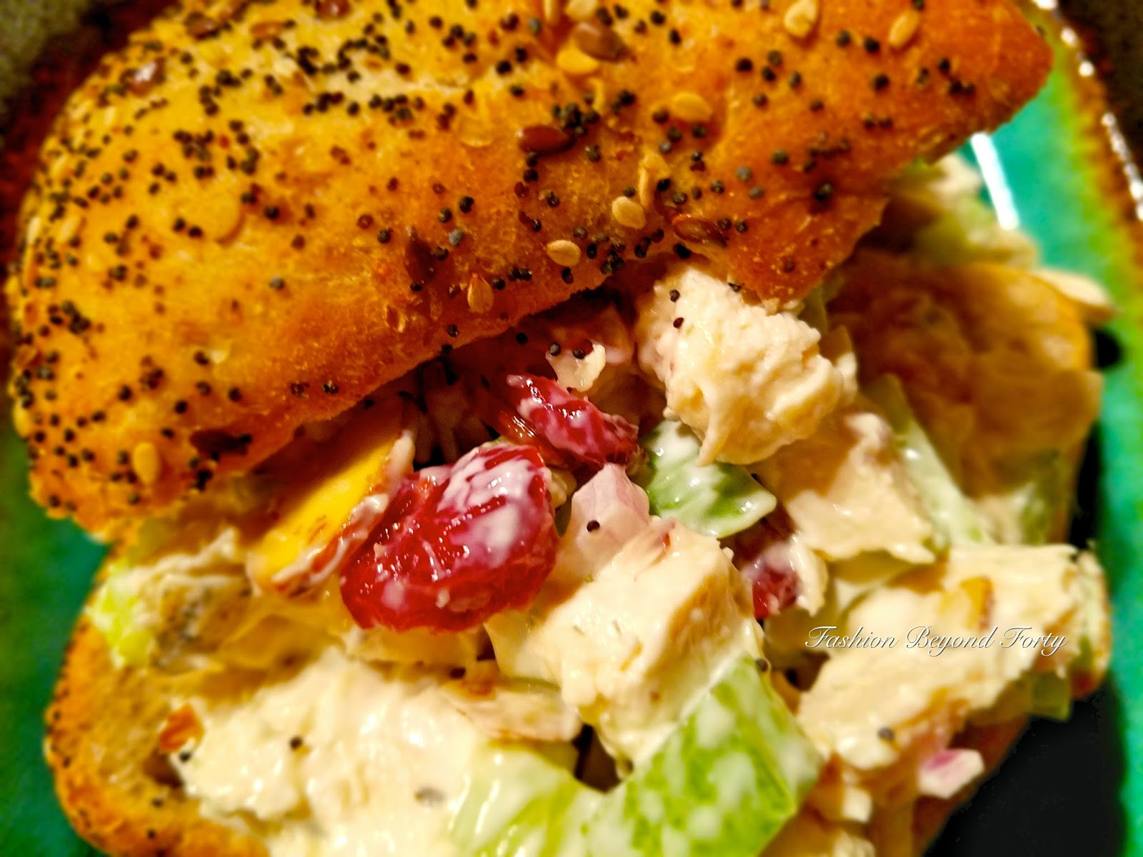 The Best Chicken Salad Ever - Vegetarian Option Too!