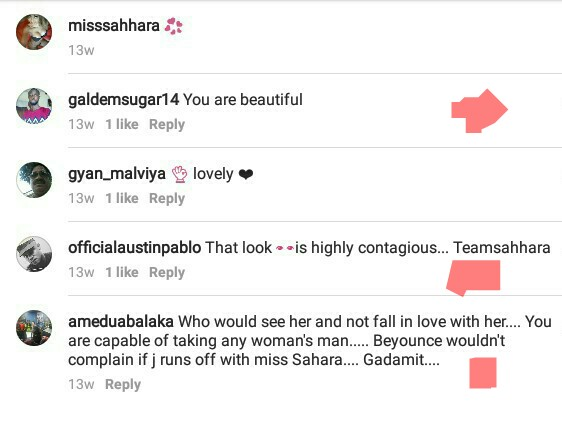 Some Nigerian men are actually lusting after transgender beauty queen, Miss Sahhara, see comments...