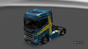 Performance Edition Skin for Scania S580