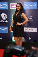 Actress Shraddha Srinath Stills in Black Short Dress at SIIMA Short Film Awards 2017 .COM 0005.JPG