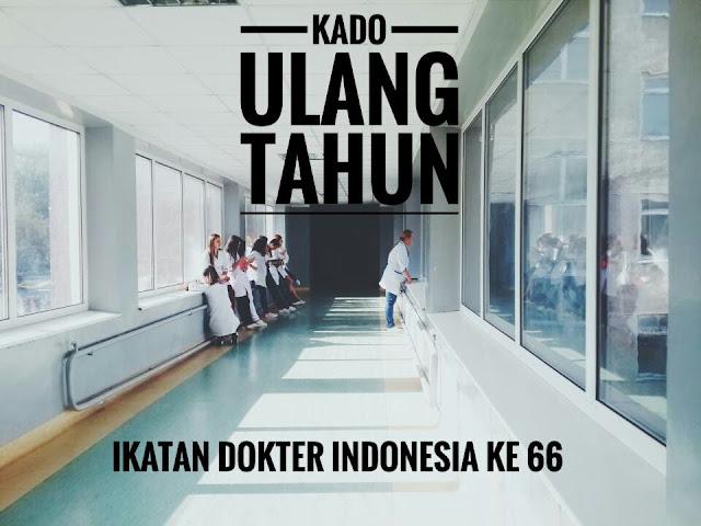 Kado Ulang Tahun Ikatan Dokter Indonesia ke 66