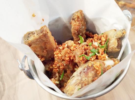 Pork Riblets, Blue Posts Boiling Crabs and Shrimps