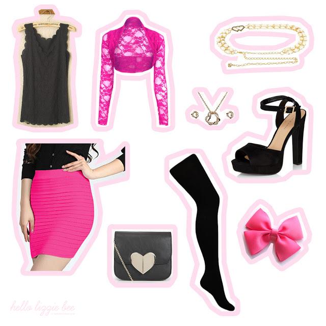 budget agejo, sexy outfit, gyaru
