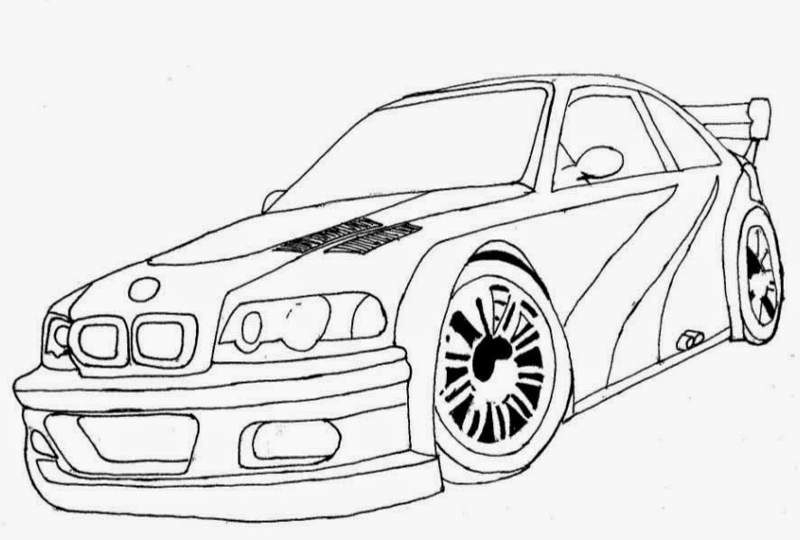 Free ford fiesta de rally coloring pages