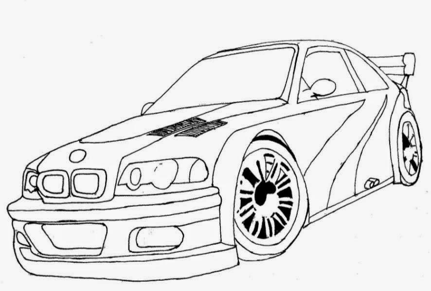 jogo desenhos de carros tunados e rebaixados para colorir