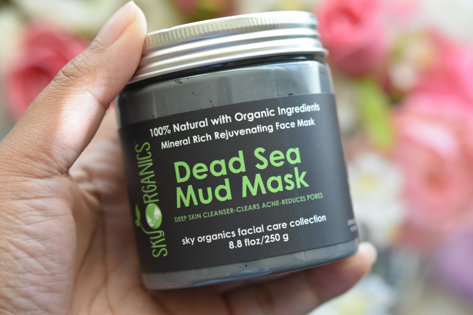Sky Organics Dead Sea Mud Mask Sourced from Israel  via  www.productreviewmom.com