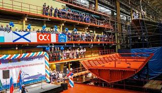 Peletakan Lunas Dua Kapal Kelas Project 22800 Karakurt