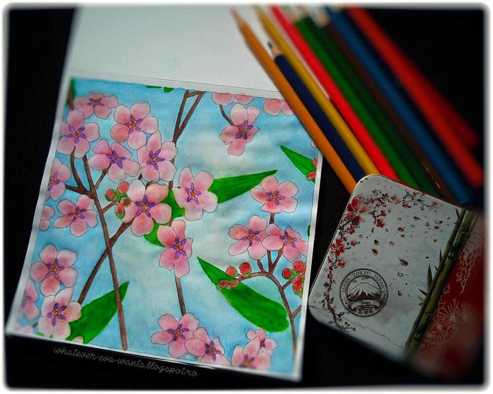 Vive le Color! Japan Adult Coloring Book | Eva Luna