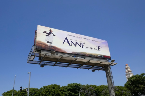Anne With An E season 2 billboard