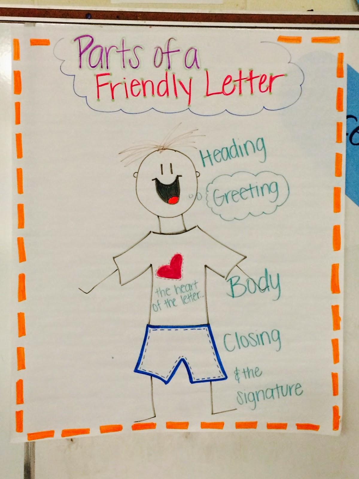 New Teacher Beginnings Writing A Friendly Letter