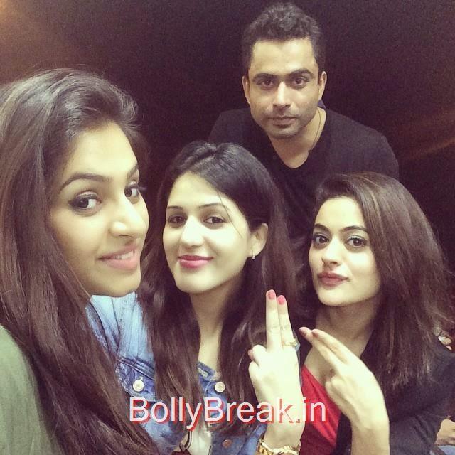 isha ri kh i , @iam_dakshitakumaria @thedhanveer @shrutisodhiofficial 😜, Hot HD Images of Actress Isha Rikhi With Family and Friends