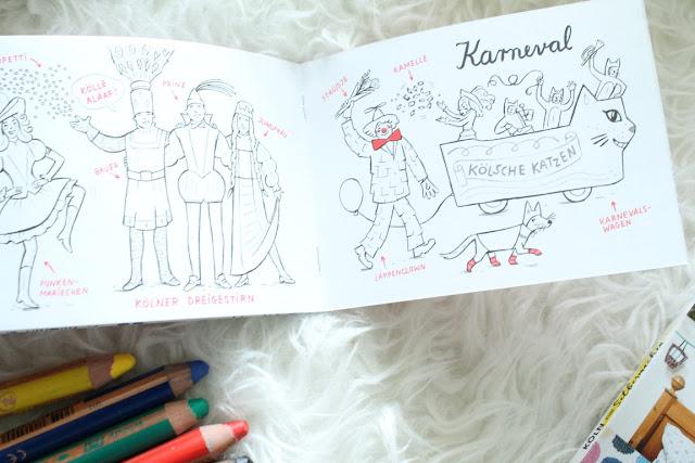 Koelsch erklaert Koeln Malbuch DIY Buch emons Verlag Jules kleines Freudenhaus