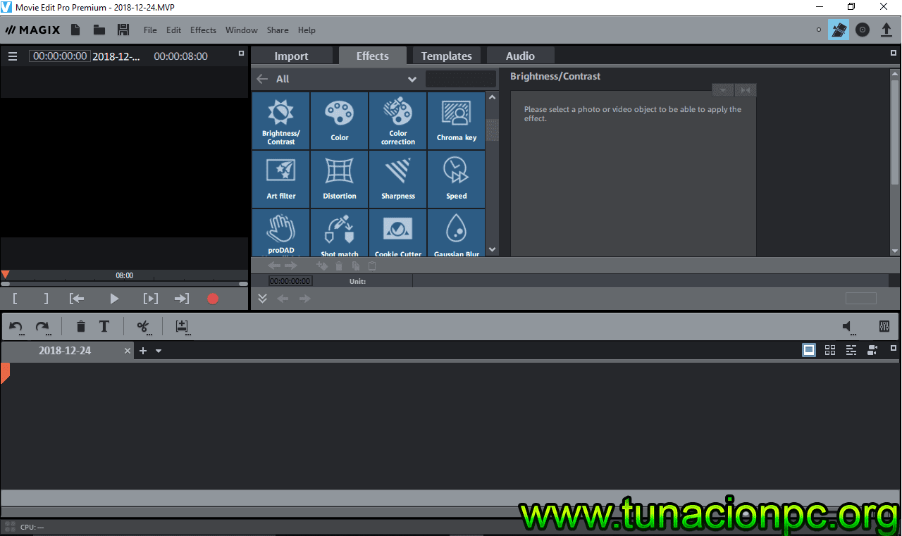 Descargar MAGIX Movie Edit Pro 2018 Final full