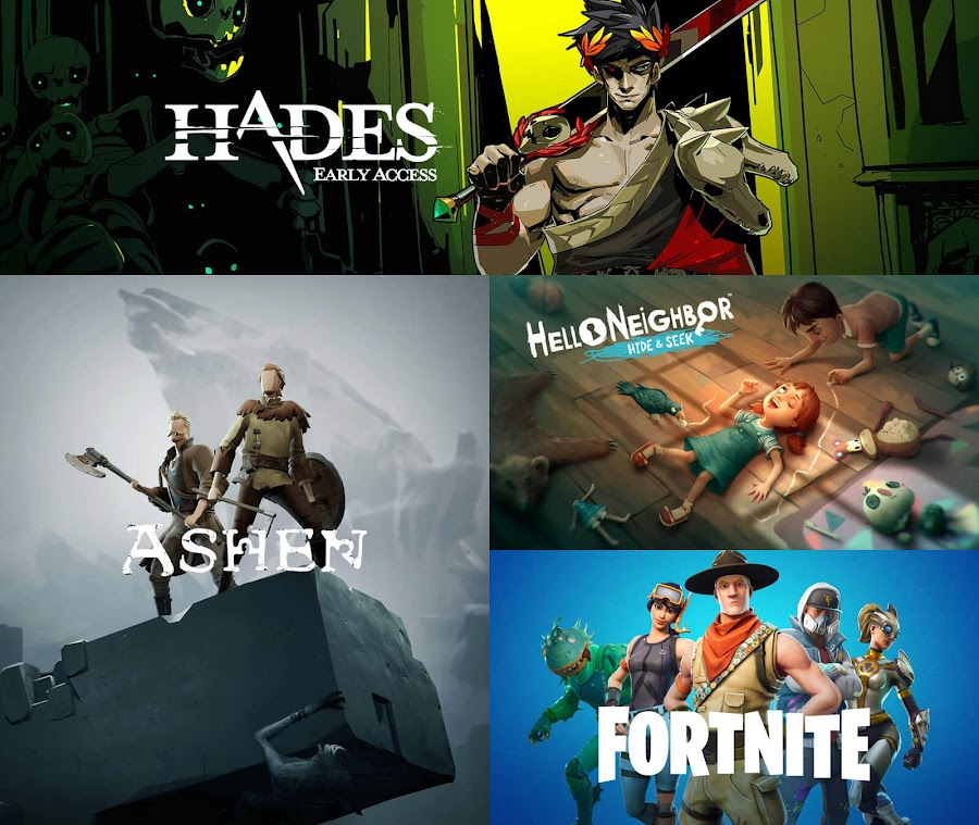 epic games store launch game lineup