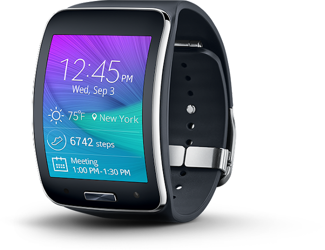Samsung is building up a totally round smartwatch of its own