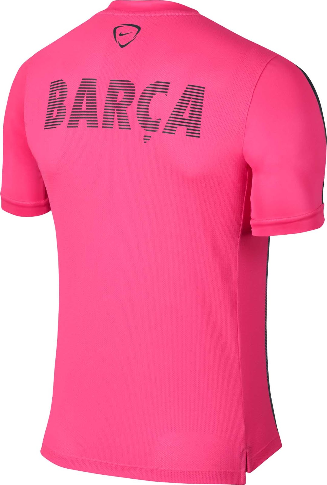 comprar camiseta rosa fc barcelona niño
