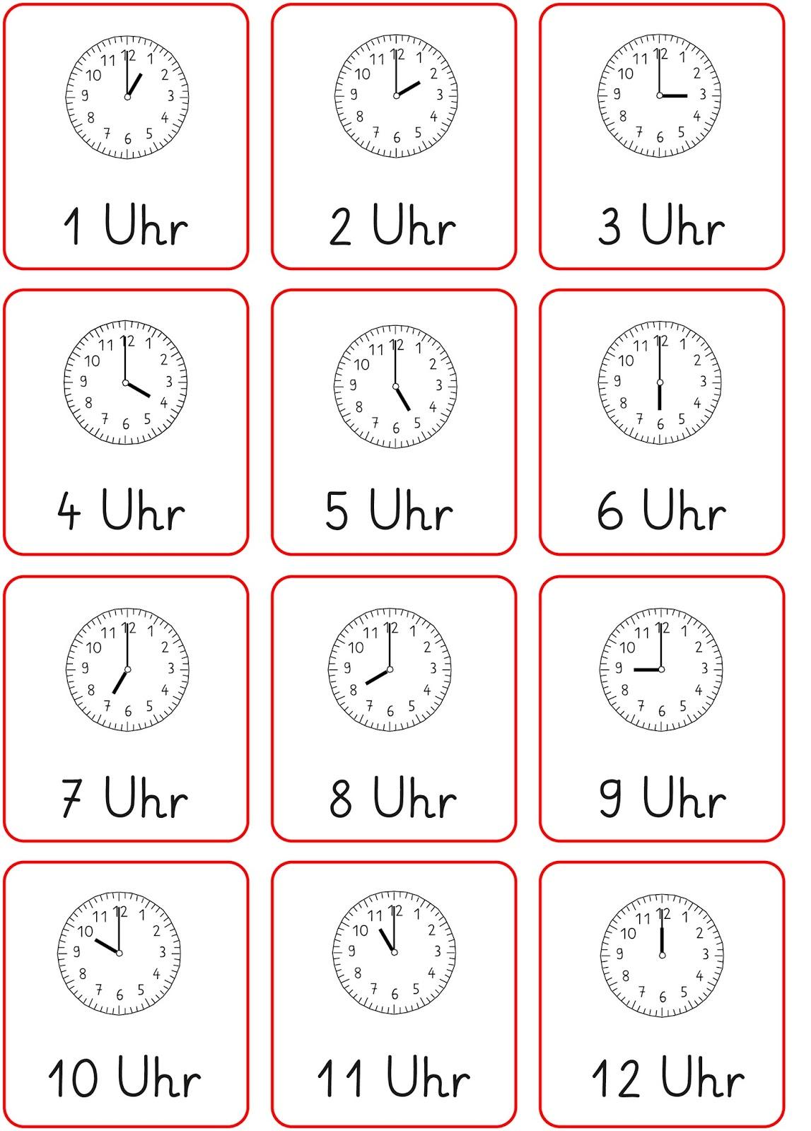Lernstübchen: volle Stunden - beide Zeiten