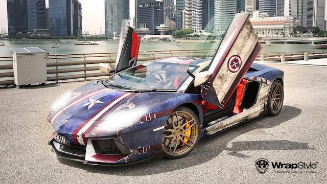 スーパーカー ラッピング