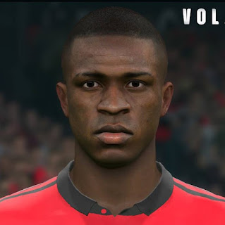 PES 2017 Faces Vinícius Júnior by Sameh Momen