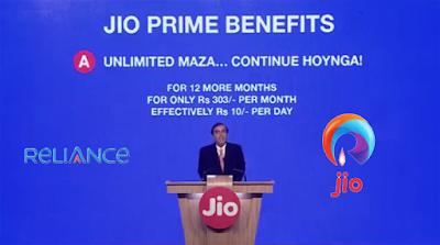 JIO Prime Membership | IMFROSTY
