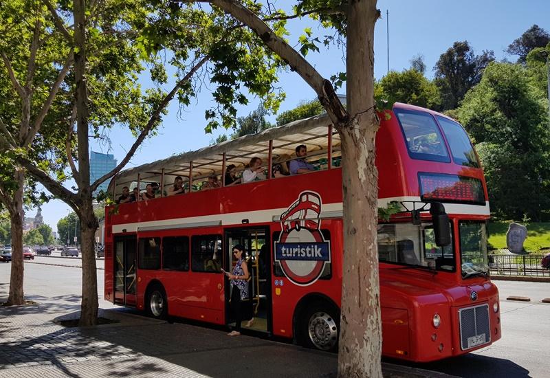 Ônibus Turistico de Santiago - Hop on Hop Off