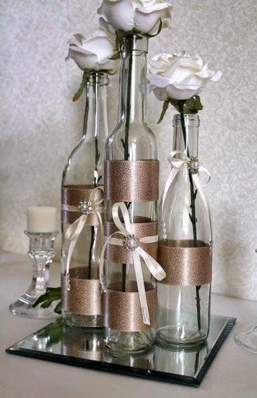 butelki ozdobne