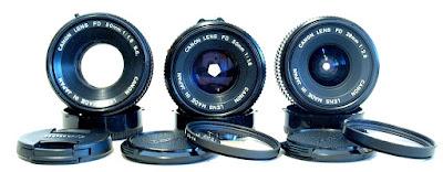 Canon FD Lenses