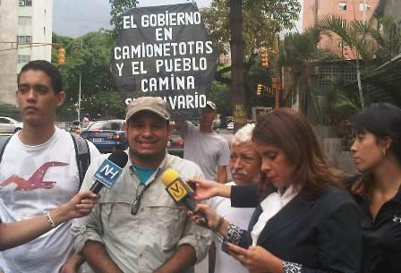 Usuarios califican de impagable e inconsulto aumento a 40bs del pasaje en Caracas