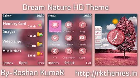 Dream Nature Live HD Theme For Nokia x2-00,x2-02,x2-05,x3-00,c2-01