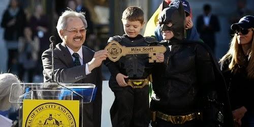 San Francisco belanja USD$105000 untuk tunaikan impian Batkid