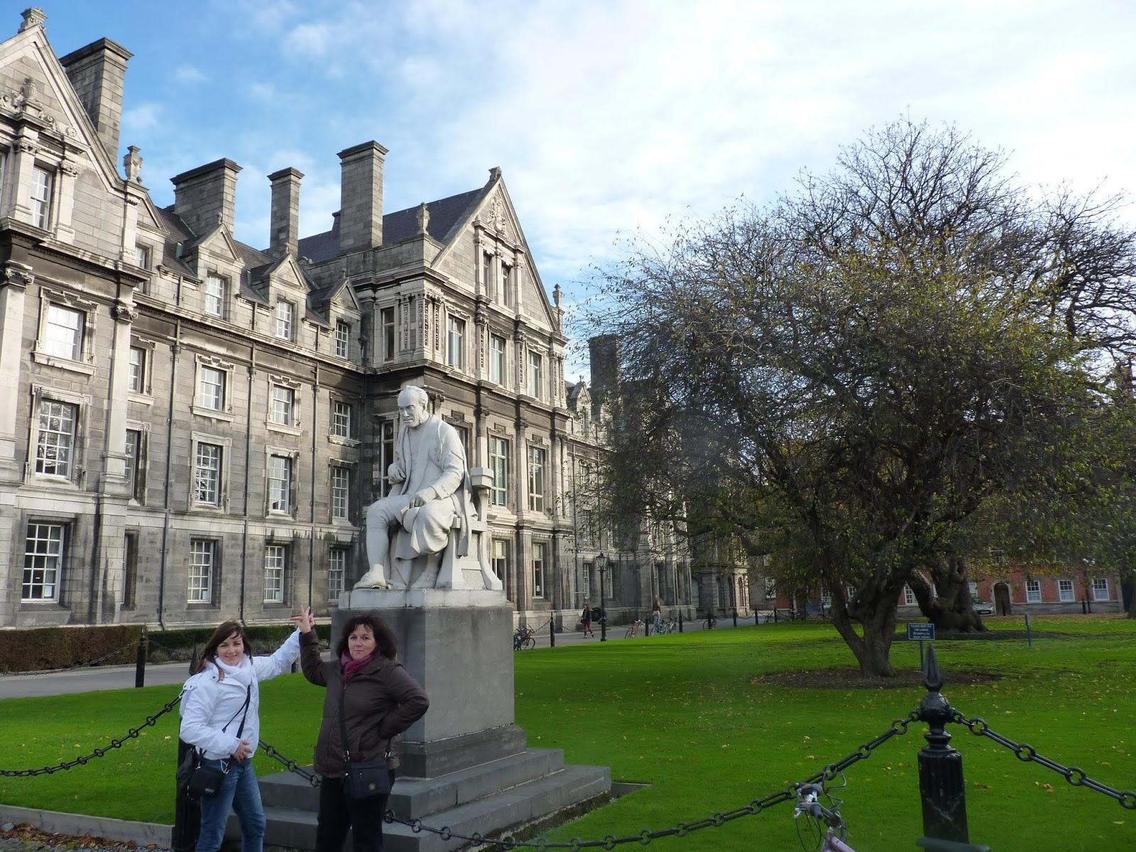 Burlas a George Salmon. Visitar biblioteca Trinity College