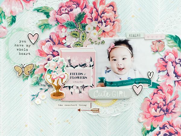 Crate Paper Design Team : Cute Girl