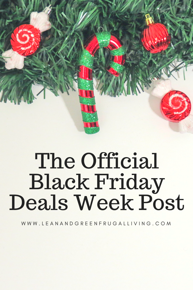 The Official Black Friday Deals Week Post