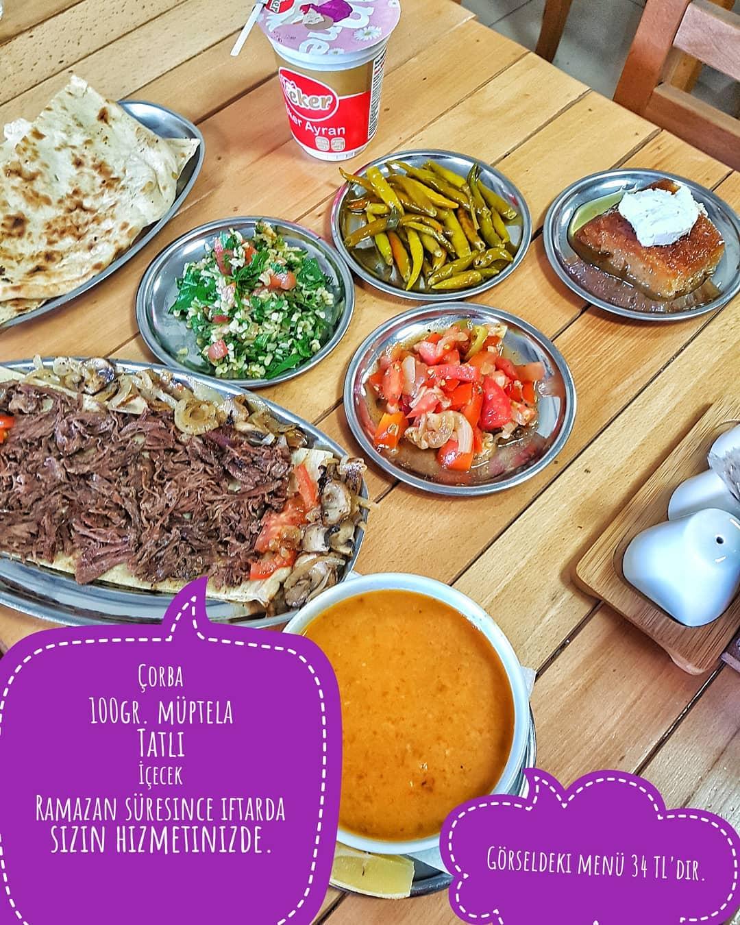 dürüm üstadı bayraklı izmir iftar menüsü