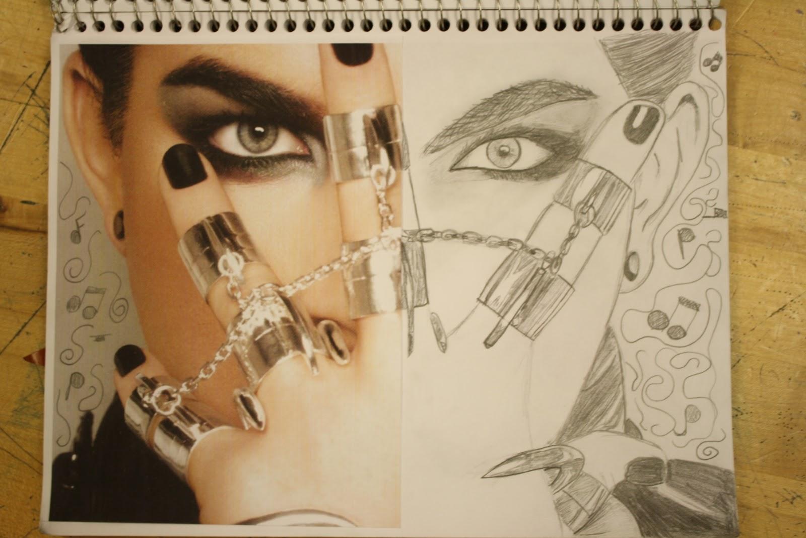 art sketchbook assignments