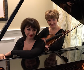 Violinist Irina Fainkichen and pianist Irina Kotlyar will present Music and Friendship on Sunday, February 3