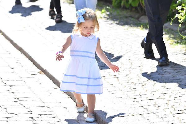 Princess Leonore Princess Madeleine Chris O Neill Visits