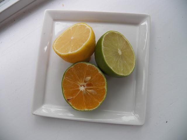 Rangpur lime, Lemon and regular lime