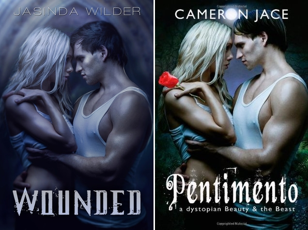Wounded de Jasinda Wilder si Pentimento de Cameron Jace