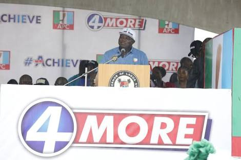 Ambode Dares The Odds; Submits APC Forms In Abuja