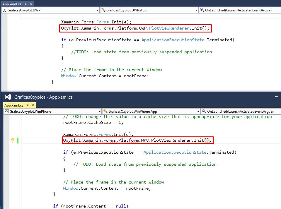 Windows Phone, Xamarin, Azure y otras cosas: Oxyplot: Una