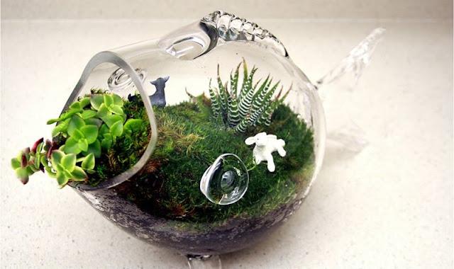 Fish Shaped Bowl Vase
