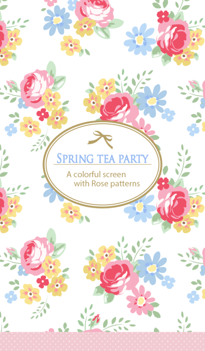 Spring tea party for World