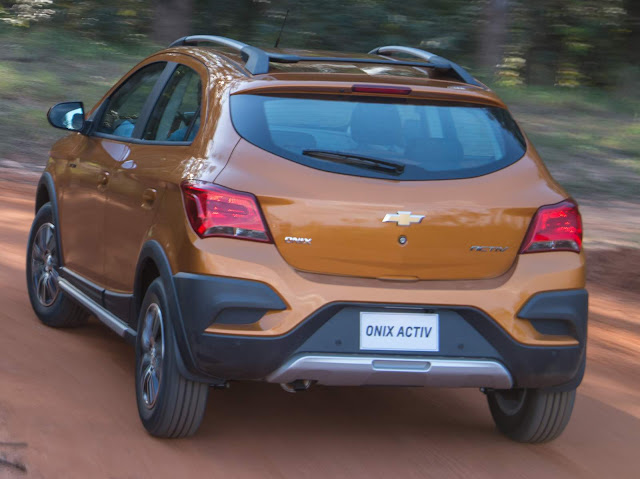 Chevrolet Onix Activ Cross 2017