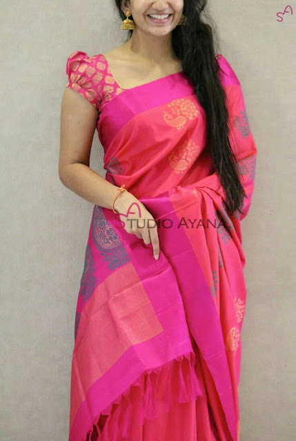 1d49042e86d54 50+ Trendy Saree Blouse Sleeve Styles to try this wedding season ...