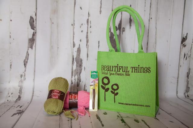Beautiful Things crochet kit.